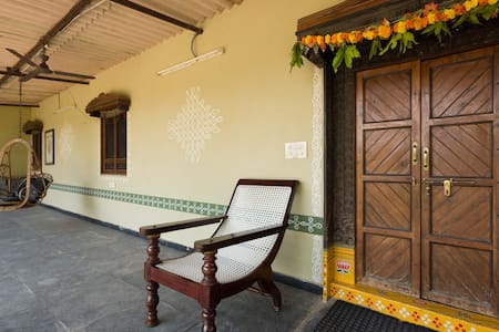 Rustic village home in the heart of the city - Hyderabad - Talo