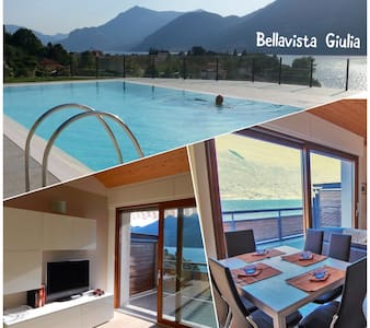 Bellavista Giulia -max.4 ospiti -Lake Como-Holiday
