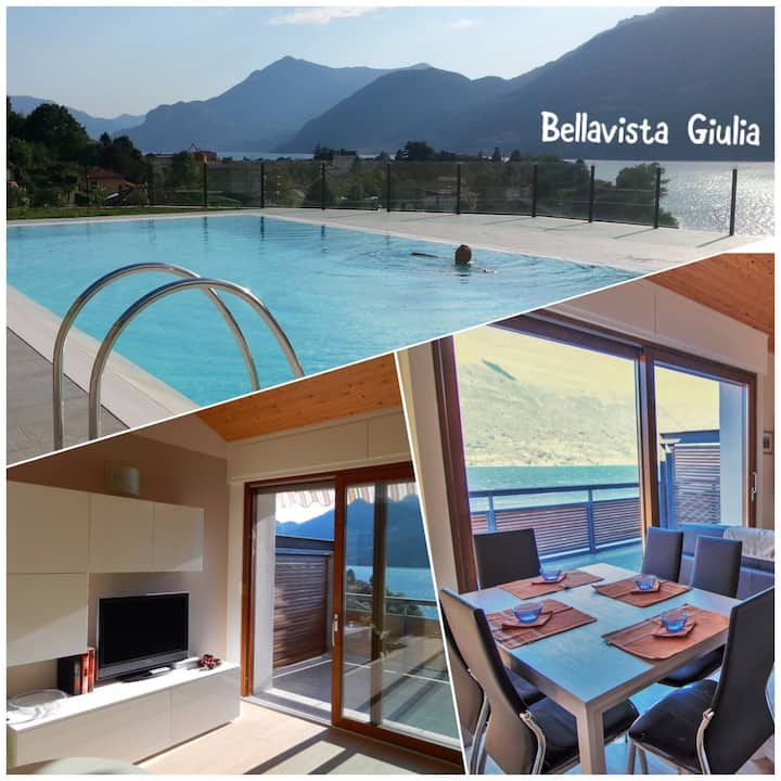 Bellavista Giulia Large-Lake Como-Pool Holiday