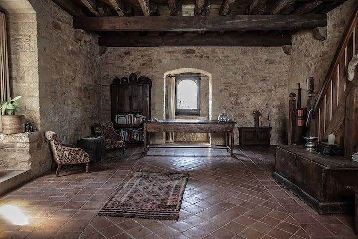 Costa Brava/Empordà. Palau Sator. Medieval Castle.