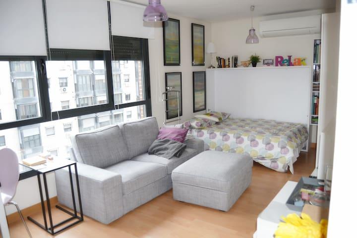 Apartamento Romántico muy cerca del Centro - Madrid - Apartamento