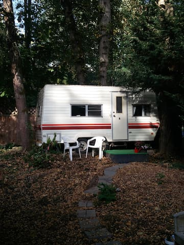 Cozy Camper in Wooded SW Neighborhood