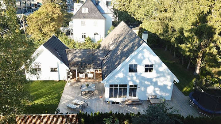 Fantastisk villa med sentral beliggende i Oslo