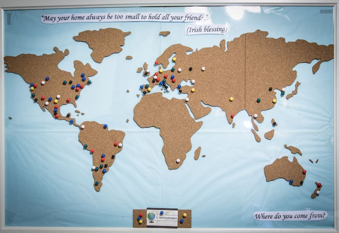 Where do you come from? Pin your country!
