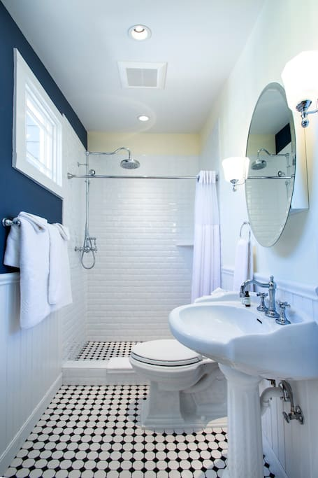 Gorgeous Bathroom with Period Specific Fixtures