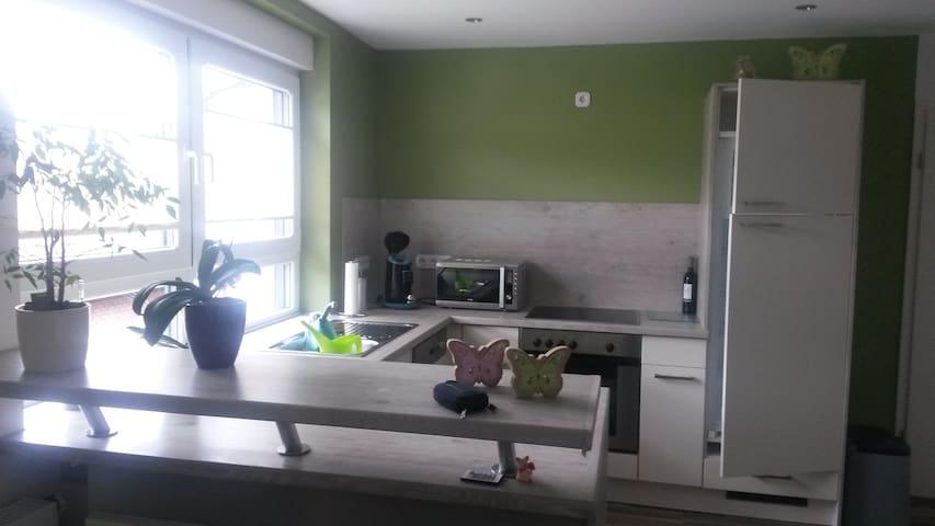 Moderne neuwertige Wohnung, 3 ZKB