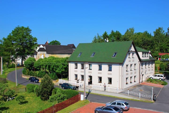 Pension Seeberg Frantiskovy Lazne - Poustka