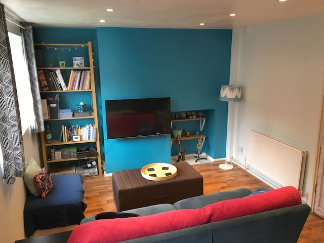 Bright, clean and private double room.