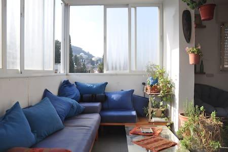 Room in rooftop apartment @Massada - Haifa - Apartment