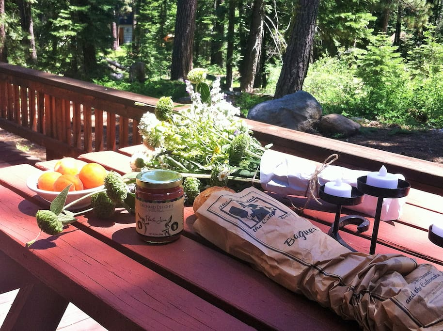 Picnic on the Deck
