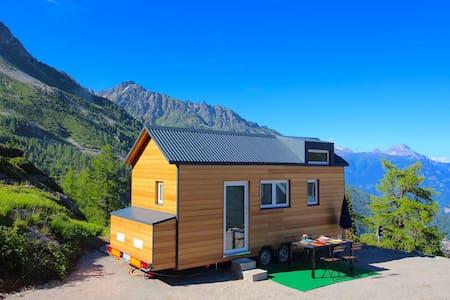 Tiny House - VerticAlp - Finhaut - Earth House