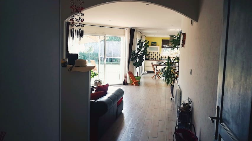 Maison 3 chambres Merignac Aéroport