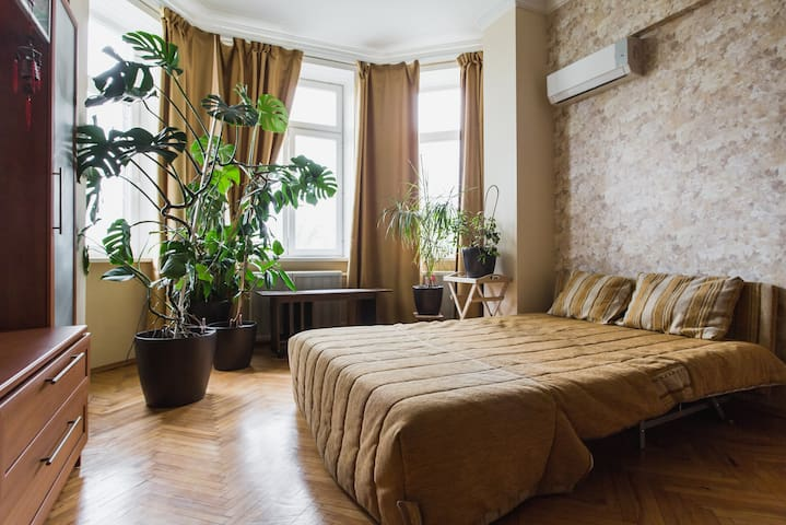 A big private room in 3-room apartment