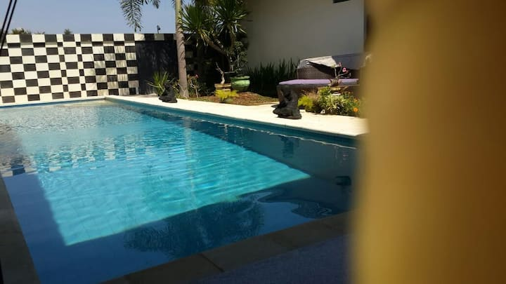Delux Double Room, Pool Side.
