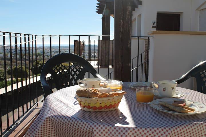 Precioso ático en Urb. Al Andalus Thalassa BL19 - Vera - Apartament