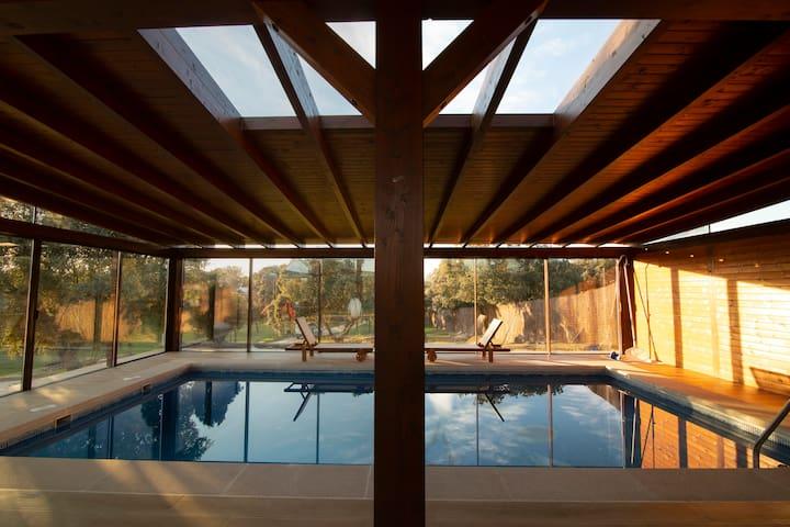 Casa de Campo El Encinar-Piscina, Padel, Barbacoa