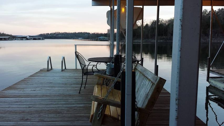 Relax on our dock!