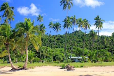 Beachfront Villa on secluded White Sandy Beach - Savusavu