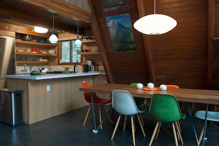Mid Century Mountain Chalet - Mammoth Lakes