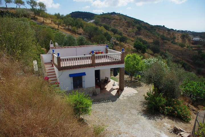 little cottage beautifull views - Málaga - Talo