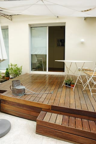 terrace - view of the deck