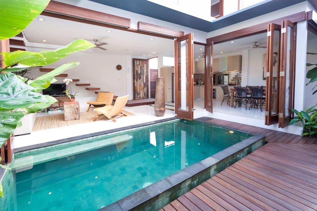 On Sale Three Bedroom Villa Villas For Rent In North Kuta Bali Indonesia