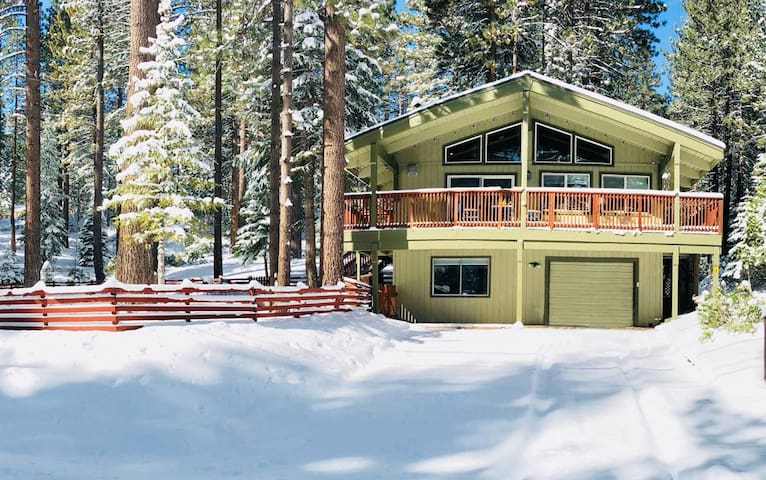 Tahoe Chalet closeTrails! Professionally cleaned