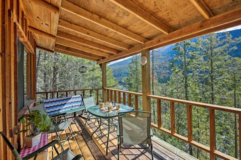 'Yaak River Hideaway' Private Cabin w/Deck & Views