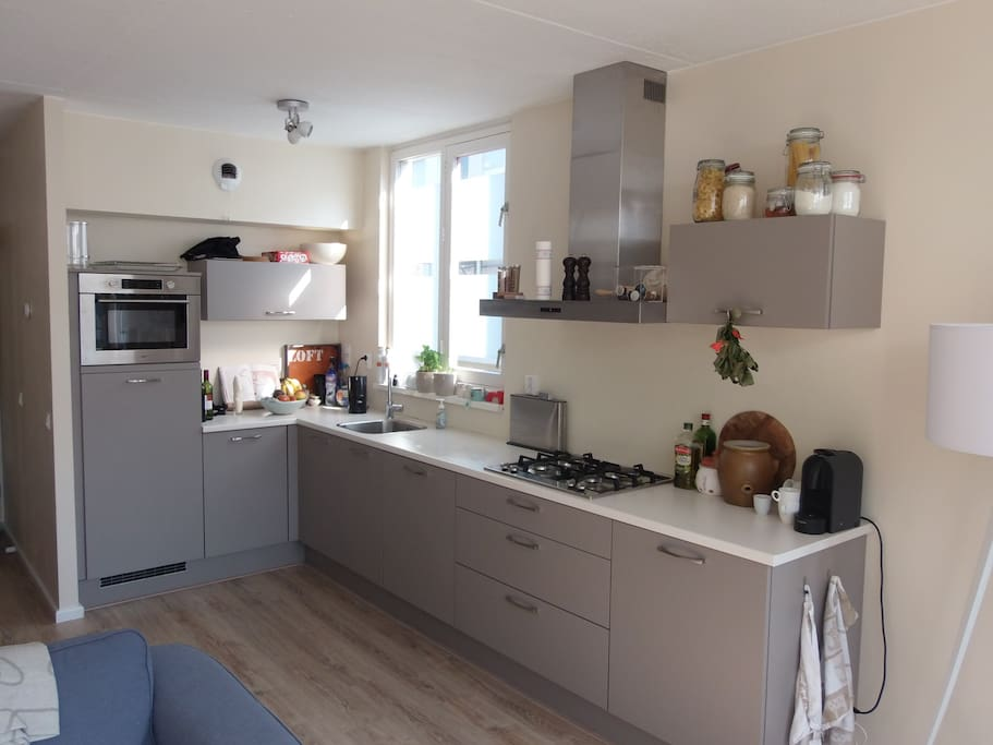 New and fully equiped kitchen