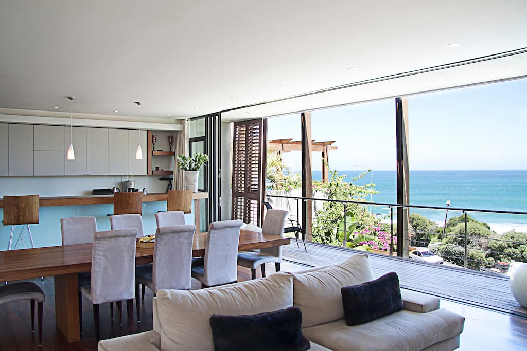 Lounge to kitchen view