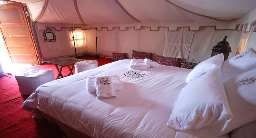 Tente de luxe pour 2 pax