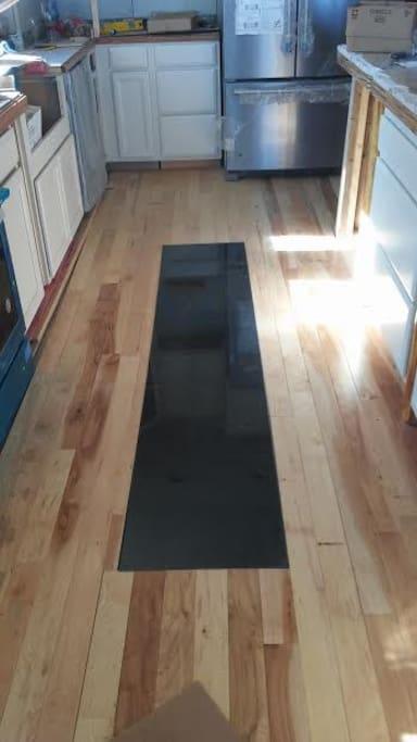 Spacious kitchen , space to entertain a dozen adults.