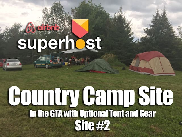 Fall Camping in the GTA w/ Flush Toilet Shower-2