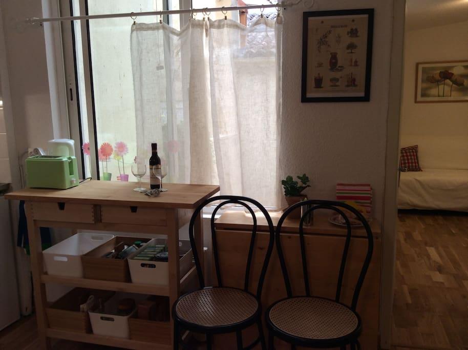 coin cuisine/salle à manger