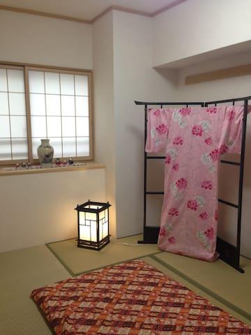 Near Tokyo station(Tatami room) - Chūō - Bed & Breakfast