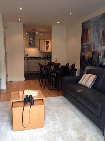 Stylish 2 bed city/beach apartment - Galway - Appartamento