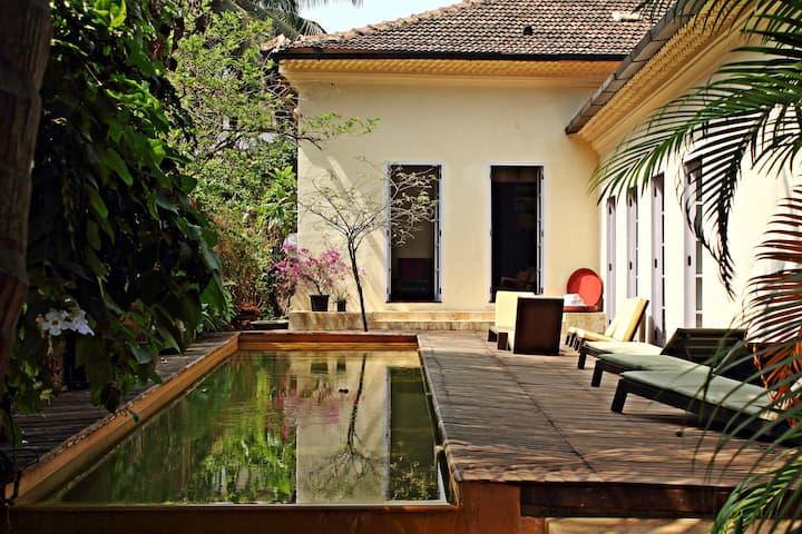 Heritage Portuguese Villa Goa India