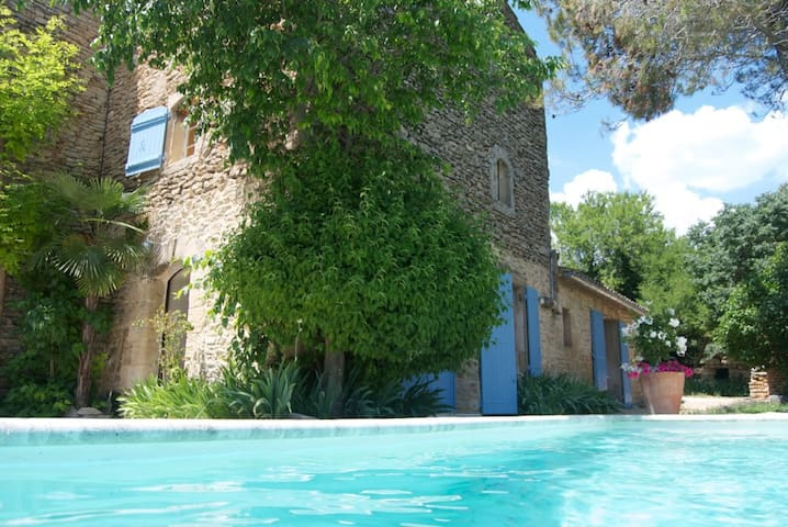 Lovely 17th Century Villa/ private pool/ Gordes - Gordes - Villa