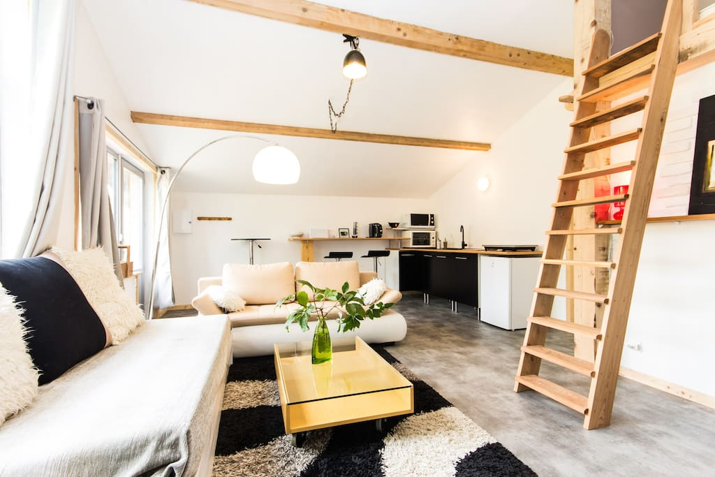 Accommodation Saint-Honoré on Airbnb