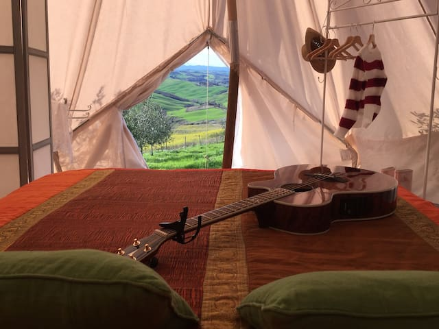 The Lazy Olive Glamping in Tuscany - Tent 2/10