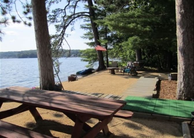 Convenient to Mallard Cove on Lake Winnisquam you will embrace the peaceful serenity found only here in the Lakes Region.