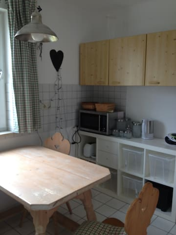 Nice, clean, friendly apartment - Freising - Daire