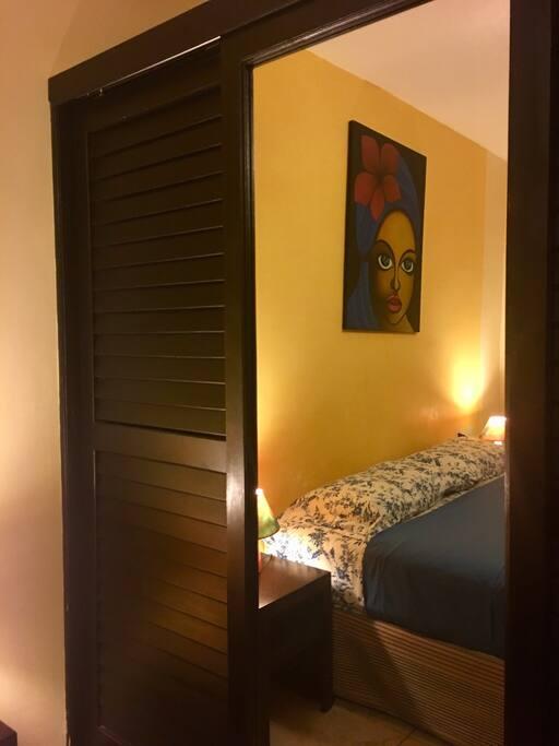 Bedroom details, huge closet 100 hangers, safe box by Viva Maira