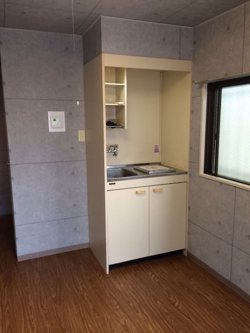 シンプルで使いやすい室内です。 Simple design is easy to use