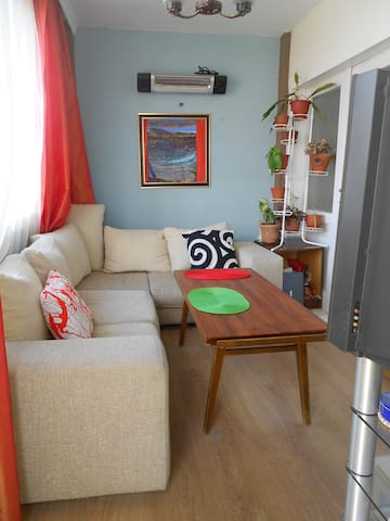 3 BDR apart,8 pers,sea view, garden - Varna - House