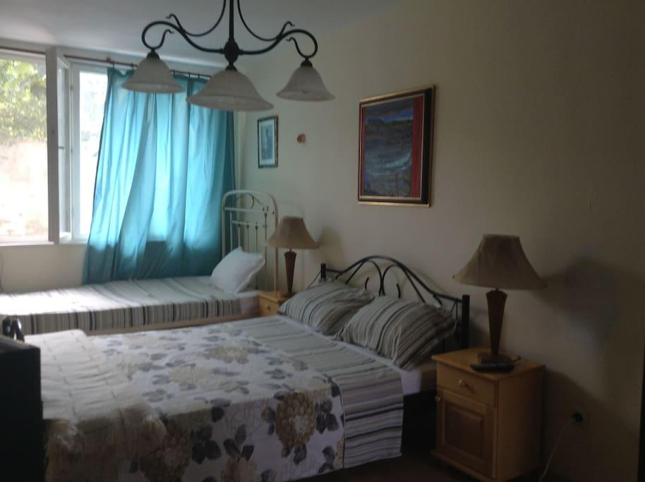 Triple ensuite bedroom