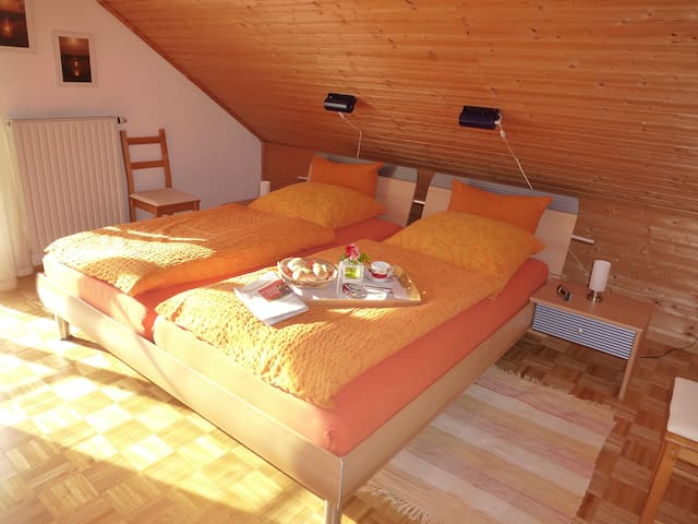 comfy, sunny apartment with balcony - Bad Wurzach - Leilighet