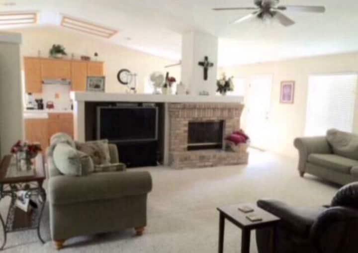 CLEAN room & bath PLUS house & pool privileges