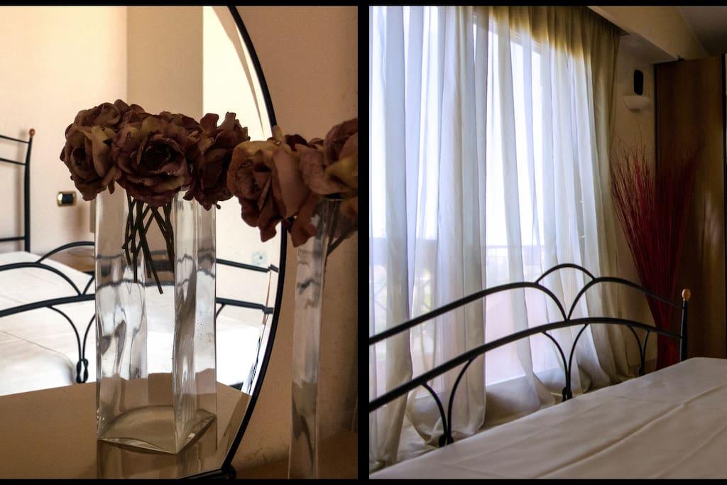 la stanza ideale per una fuga romantica