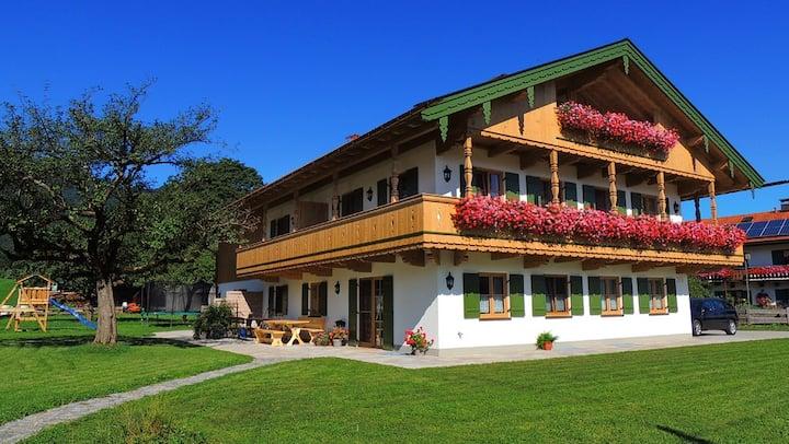 Ferienwohnung Grasmüllerhof am Fuße des Braunecks